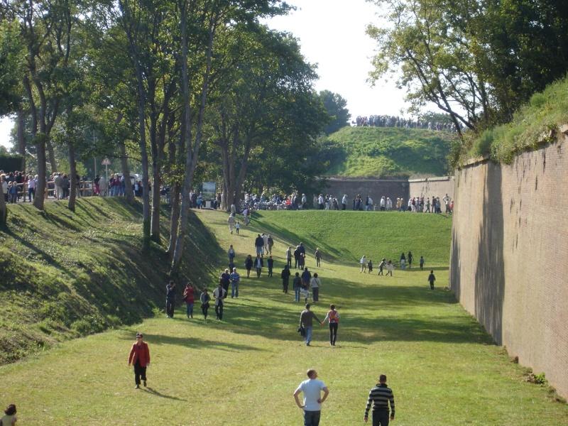 Jardins suspendus - Fort de Sainte Adresse : anciennes douves | LE HAVRE PATRIMONIAL