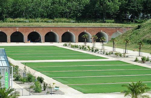 Jardins suspendus du havre fort de sainte adresse arcades des enceintes le havre patrimonial - Les jardins suspendus le havre ...
