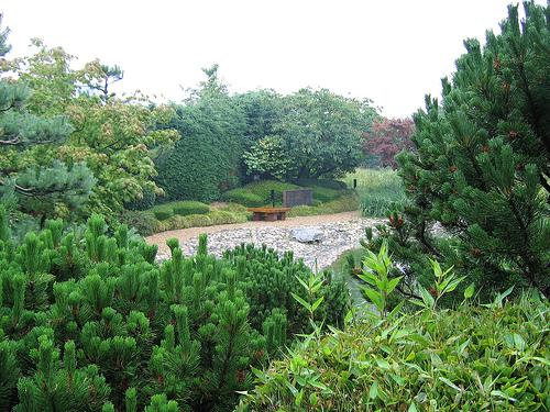 Jardin japonais du havre vue g n rale sur la plage - Jardin japonais le havre ...