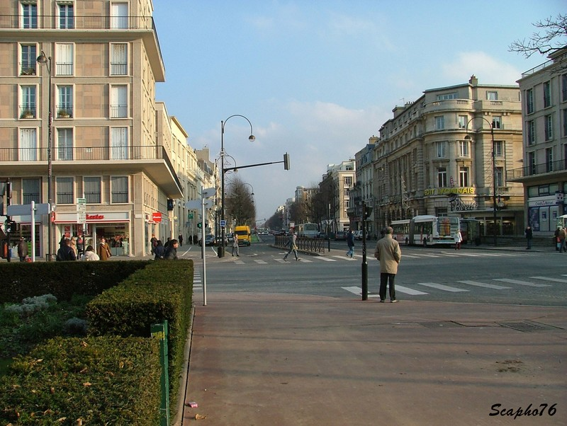 place de l h tel de ville boulevard de strasbourg le havre avant le tramway le havre. Black Bedroom Furniture Sets. Home Design Ideas
