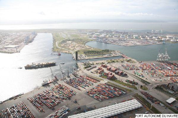 port du havre vue a 233 rienne de l 233 cluse fran 231 ois ier le havre patrimonial