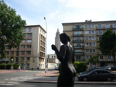 statue av foch le havre