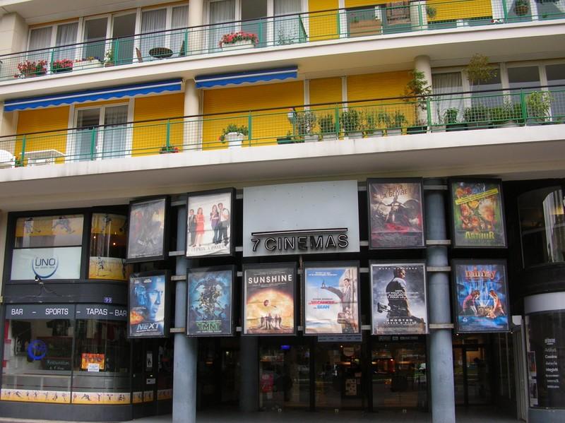 7 cinémas