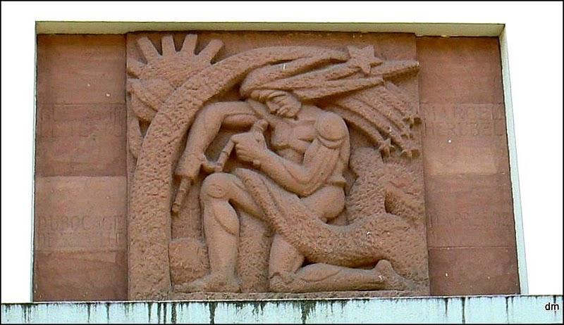 bas relief av foch l elhavre