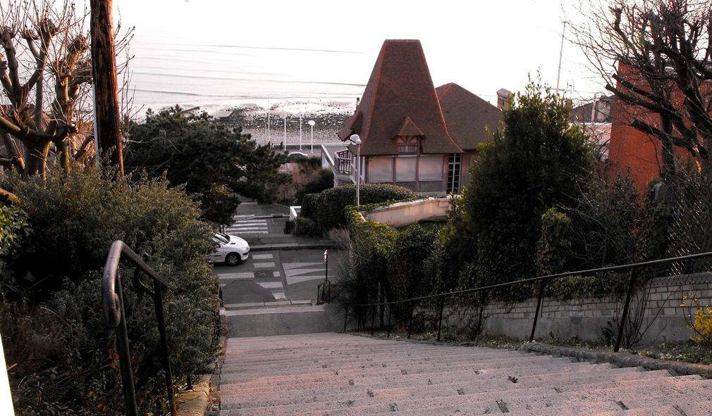 escalier sainte adresse