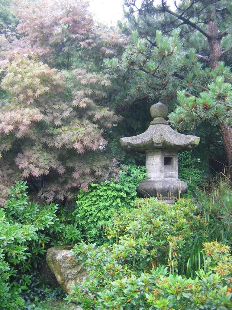 jardin japonais du havre tsukubai - Jardin Japonais Le Havre