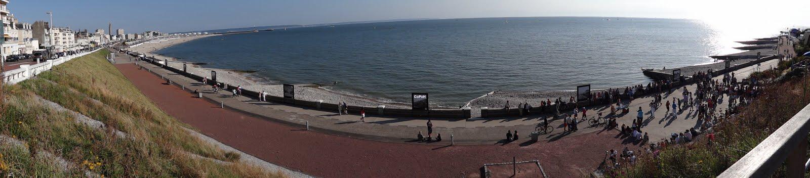Plage du Havre Vue Panoramique