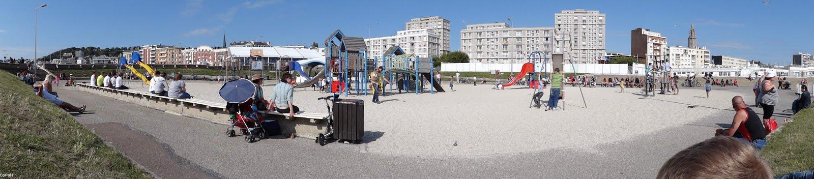 CoPoH Vue Panoramique jeux plage Le Havre