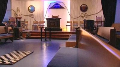 temple ma onnique du havre int rieur le havre patrimonial. Black Bedroom Furniture Sets. Home Design Ideas
